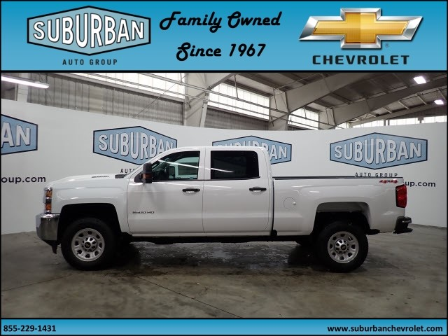 2018 Silverado 2500 Crew Cab 4x4, Pickup #T180364 - photo 3