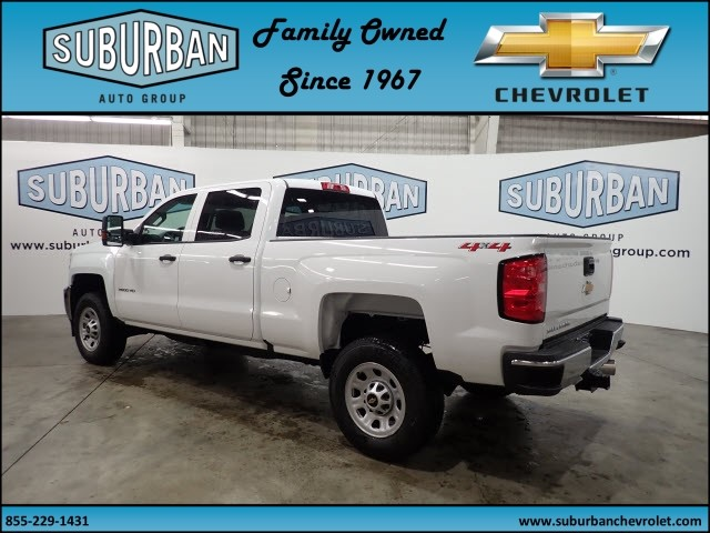 2018 Silverado 2500 Crew Cab 4x4, Pickup #T180364 - photo 2