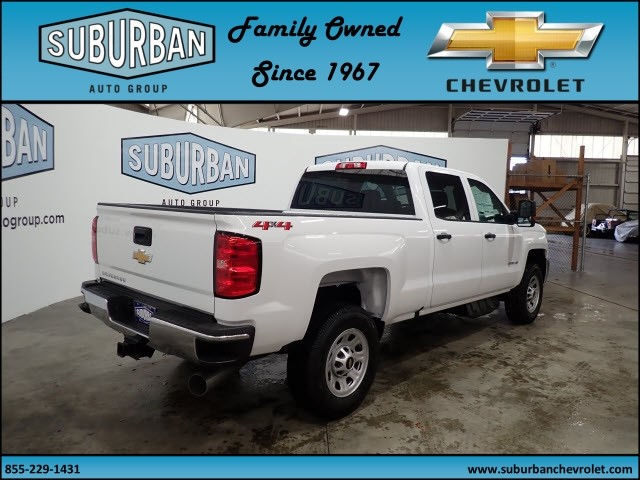 2018 Silverado 2500 Crew Cab 4x4, Pickup #T180364 - photo 4