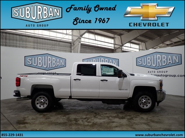 2018 Silverado 2500 Crew Cab 4x4, Pickup #T180364 - photo 5