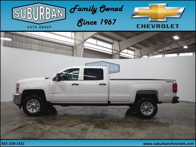 2018 Silverado 2500 Crew Cab 4x4, Pickup #T180381 - photo 3
