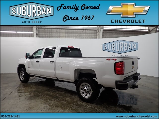 2018 Silverado 2500 Crew Cab 4x4, Pickup #T180381 - photo 2