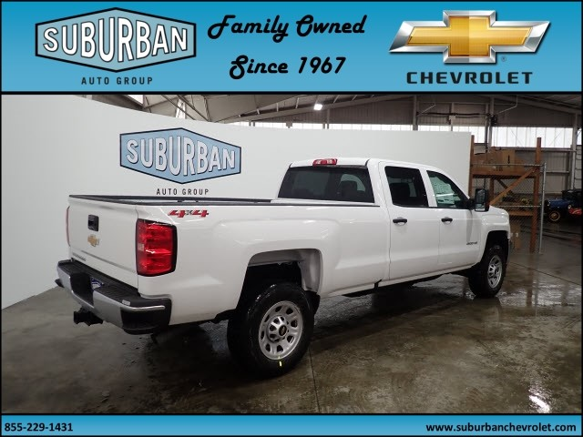 2018 Silverado 2500 Crew Cab 4x4, Pickup #T180381 - photo 4