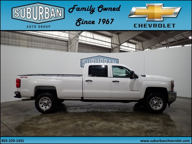2018 Silverado 2500 Crew Cab 4x4, Pickup #T180381 - photo 5
