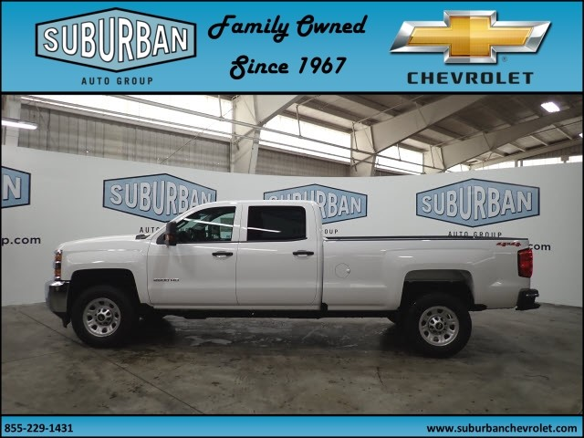 2018 Silverado 2500 Crew Cab 4x4, Pickup #T180404 - photo 3