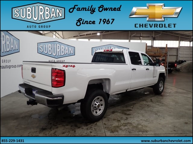 2018 Silverado 2500 Crew Cab 4x4, Pickup #T180404 - photo 4