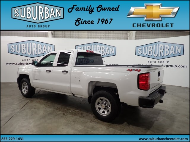 2018 Silverado 1500 Double Cab 4x4, Pickup #T180562 - photo 2