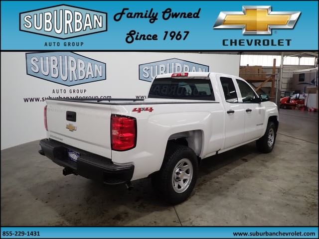 2018 Silverado 1500 Double Cab 4x4, Pickup #T180562 - photo 4