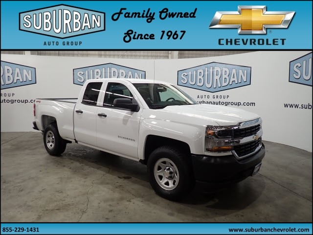 2018 Silverado 1500 Double Cab 4x4, Pickup #T180562 - photo 6