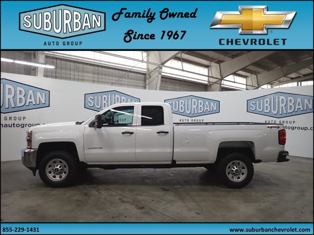 2018 Silverado 2500 Double Cab 4x4, Pickup #T180574 - photo 3