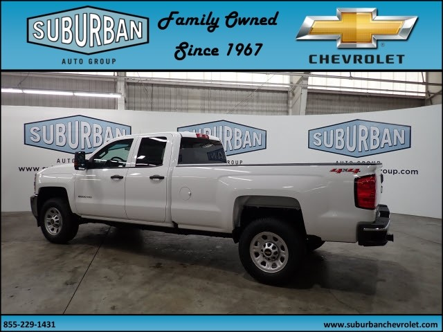 2018 Silverado 2500 Double Cab 4x4, Pickup #T180574 - photo 2