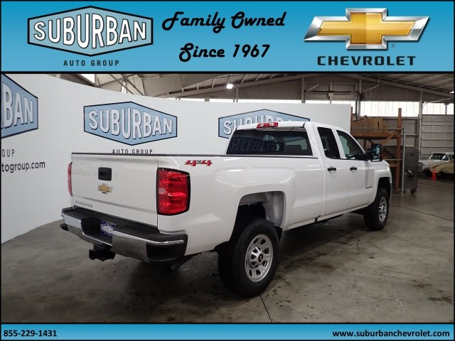 2018 Silverado 2500 Double Cab 4x4, Pickup #T180574 - photo 4