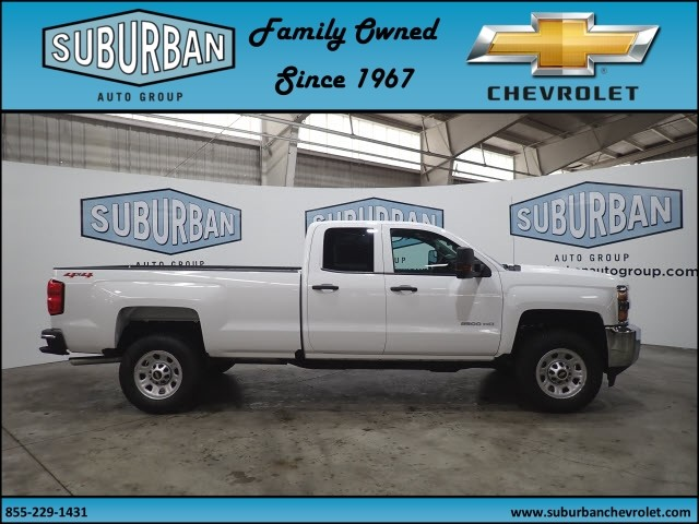 2018 Silverado 2500 Double Cab 4x4, Pickup #T180574 - photo 5