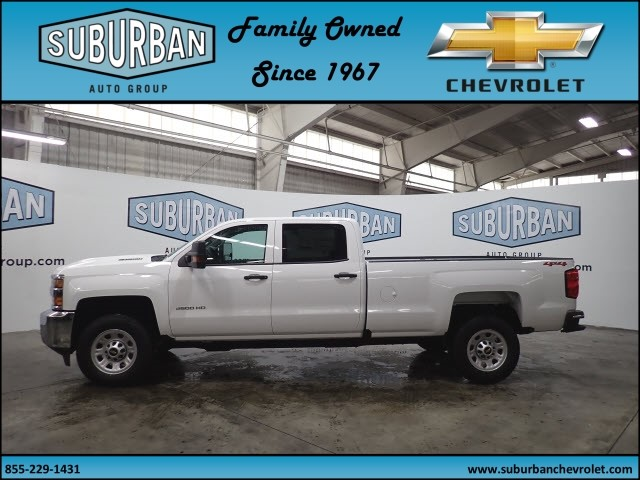 2018 Silverado 2500 Crew Cab 4x4, Pickup #T180589 - photo 3