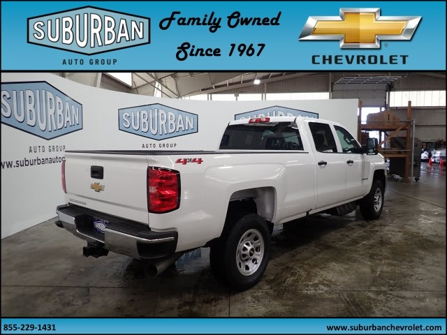 2018 Silverado 2500 Crew Cab 4x4, Pickup #T180589 - photo 4