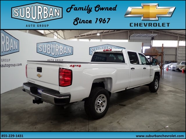 2018 Silverado 2500 Crew Cab 4x4, Pickup #T180591 - photo 4