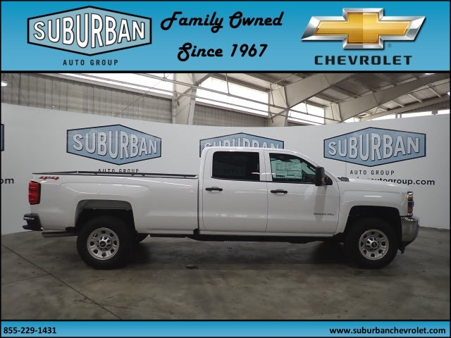 2018 Silverado 2500 Crew Cab 4x4, Pickup #T180591 - photo 5