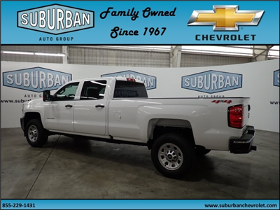 2018 Silverado 2500 Crew Cab 4x4, Pickup #T180591 - photo 2