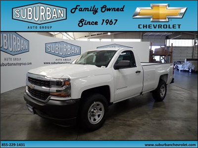 2018 Silverado 1500 Regular Cab 4x4,  Pickup #T180800 - photo 1