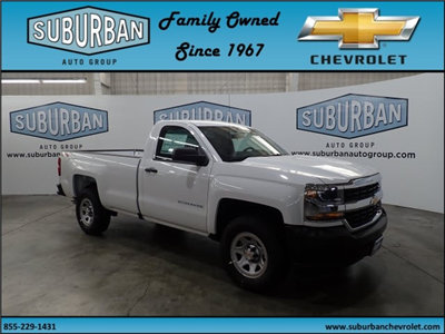 2018 Silverado 1500 Regular Cab 4x4,  Pickup #T180800 - photo 6