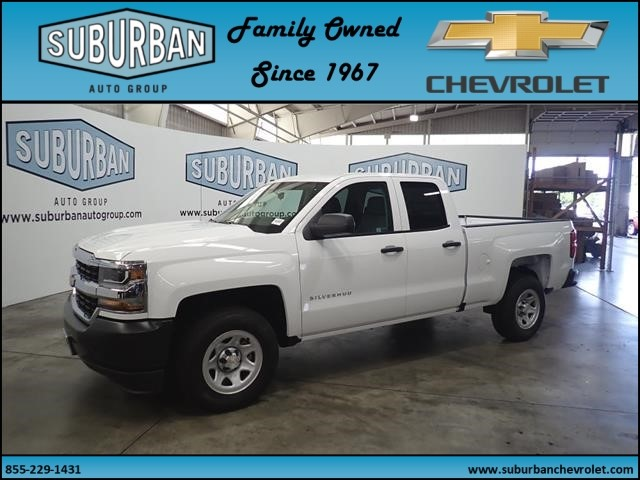 2018 Silverado 1500 Double Cab 4x2,  Pickup #T180823 - photo 1