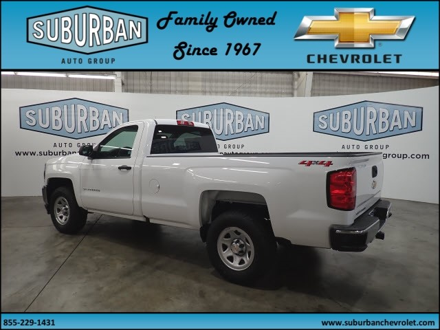 2018 Silverado 1500 Regular Cab 4x4,  Pickup #T180825 - photo 2