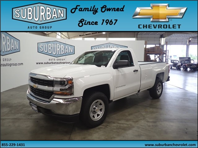 2018 Silverado 1500 Regular Cab 4x4,  Pickup #T180825 - photo 1