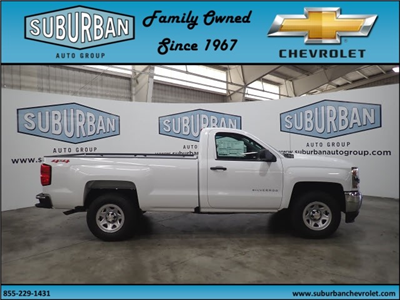 2018 Silverado 1500 Regular Cab 4x4,  Pickup #T180825 - photo 5