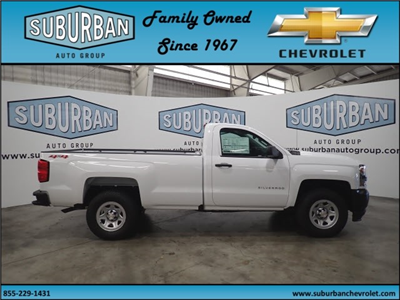 2018 Silverado 1500 Regular Cab 4x4,  Pickup #T180840 - photo 5