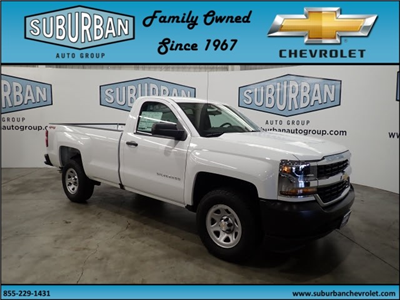 2018 Silverado 1500 Regular Cab 4x4,  Pickup #T180840 - photo 6