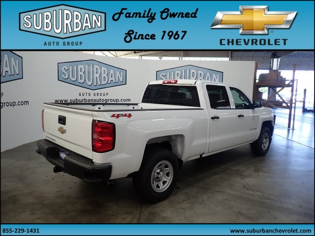 2018 Silverado 1500 Crew Cab 4x4,  Pickup #T180888 - photo 4