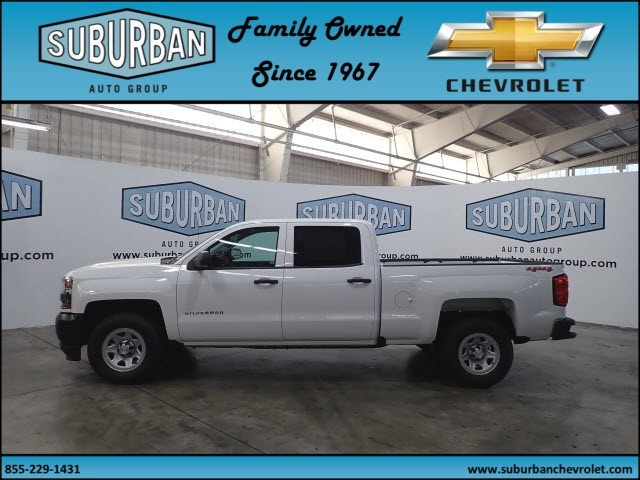 2018 Silverado 1500 Crew Cab 4x4,  Pickup #T180890 - photo 3