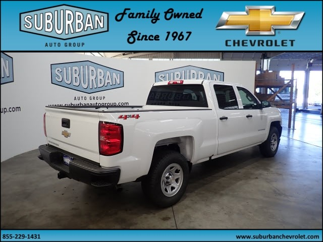 2018 Silverado 1500 Crew Cab 4x4,  Pickup #T180890 - photo 4