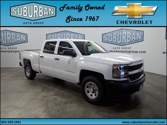 2018 Silverado 1500 Crew Cab 4x4,  Pickup #T180890 - photo 6
