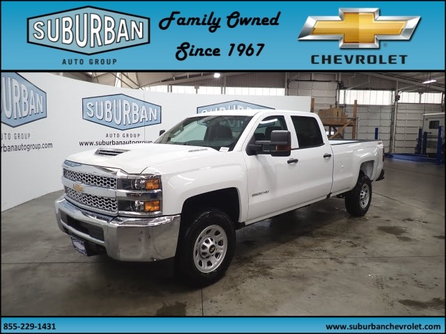 2019 Silverado 2500 Crew Cab 4x4,  Pickup #T190139 - photo 1