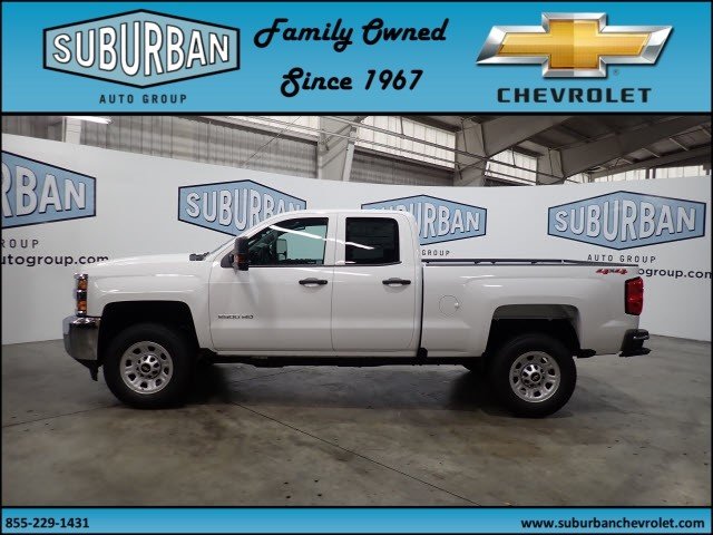 2019 Silverado 2500 Double Cab 4x4,  Pickup #T190152 - photo 3