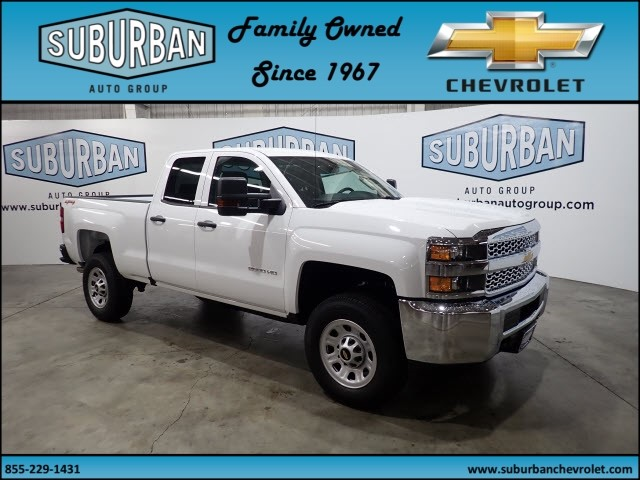 2019 Silverado 2500 Double Cab 4x4,  Pickup #T190152 - photo 6