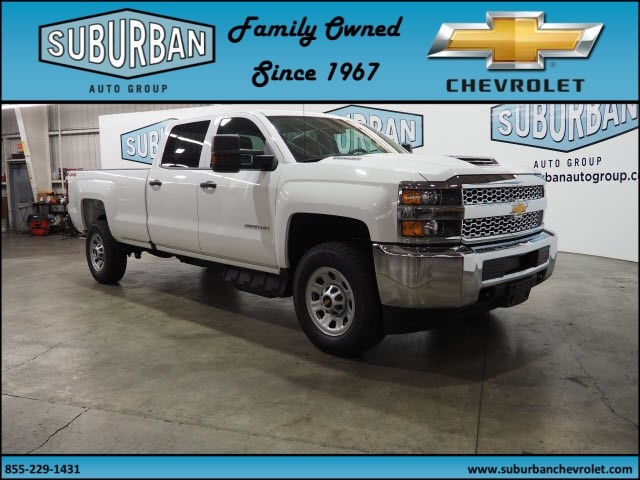 2019 Silverado 2500 Crew Cab 4x4,  Pickup #T190235 - photo 6