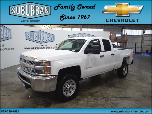 2019 Silverado 2500 Double Cab 4x4,  Pickup #T190334 - photo 1