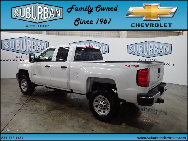 2019 Silverado 2500 Double Cab 4x4,  Pickup #T190334 - photo 2