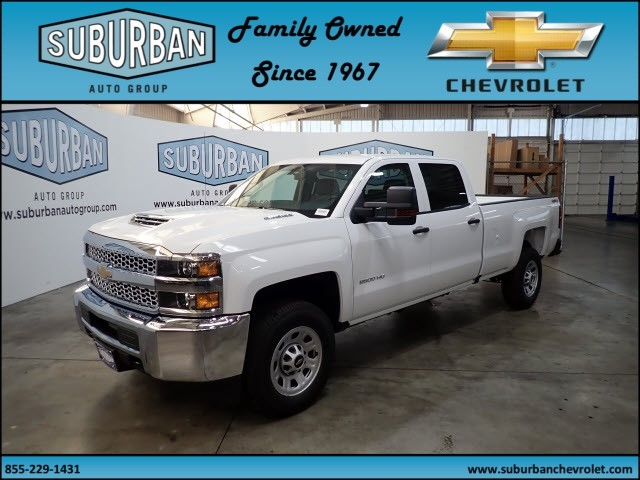 2019 Silverado 2500 Crew Cab 4x4,  Pickup #T190354 - photo 1