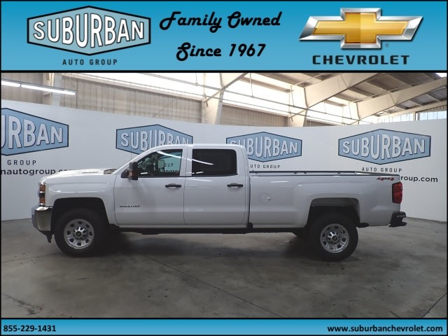 2019 Silverado 2500 Crew Cab 4x4,  Pickup #T190354 - photo 3