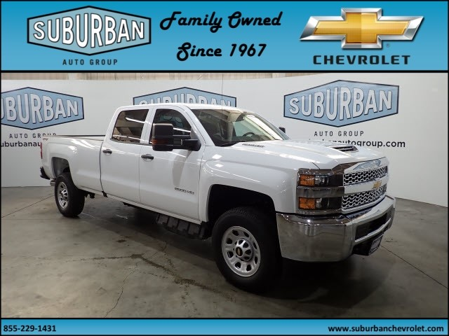 2019 Silverado 2500 Crew Cab 4x4,  Pickup #T190354 - photo 6
