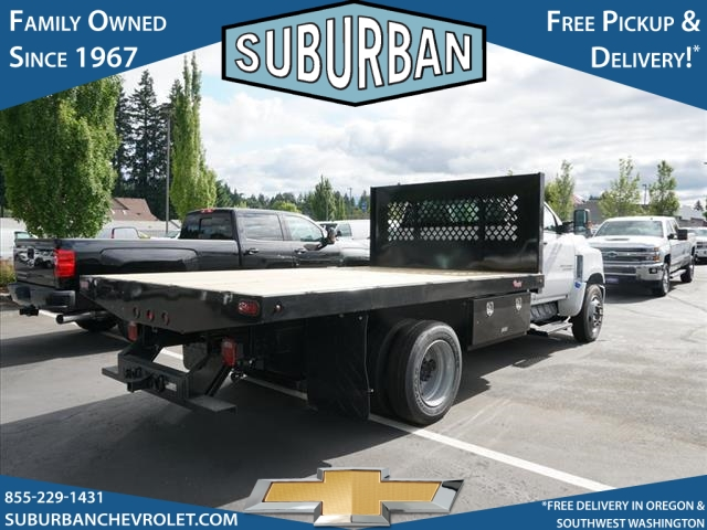 2019 Silverado Medium Duty DRW 4x2,  Rugby Series 2000 Platform Body #T190662 - photo 4