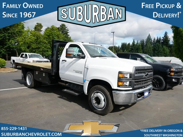 2019 Silverado Medium Duty DRW 4x2,  Rugby Series 2000 Platform Body #T190662 - photo 5