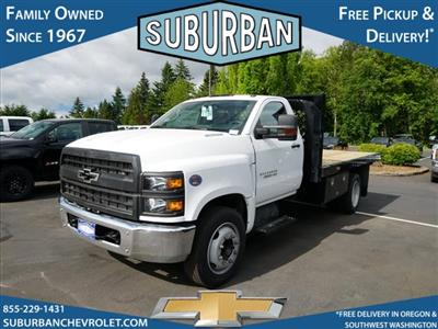 2019 Silverado Medium Duty DRW 4x2,  Rugby Series 2000 Platform Body #T190662 - photo 1