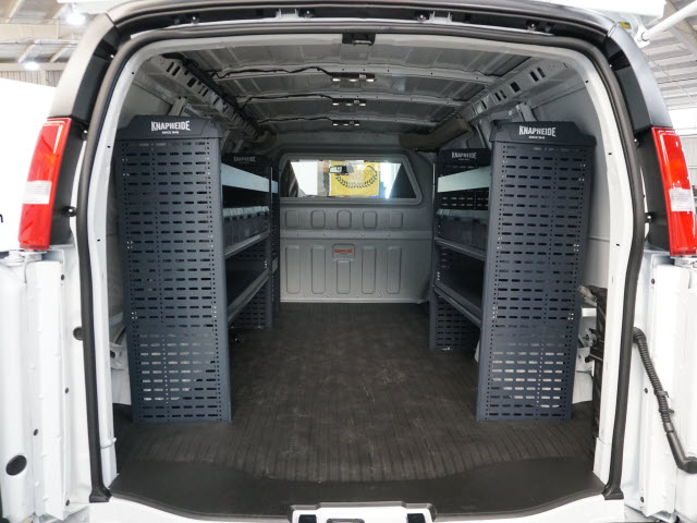 2020 Chevrolet Express 3500 RWD, Sortimo Upfitted Cargo Van #T200788 - photo 1
