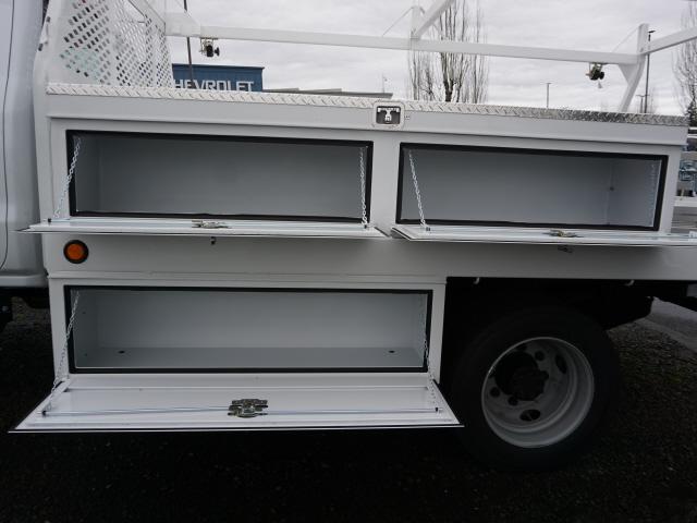 2020 Chevrolet Silverado 5500 Crew Cab DRW 4x4, Scelzi CTFB Contractor Body #T200929 - photo 9