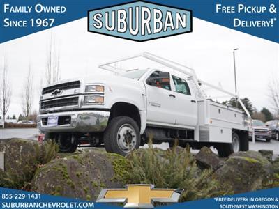2020 Chevrolet Silverado 5500 Crew Cab DRW 4x4, Scelzi CTFB Contractor Body #T200929 - photo 1