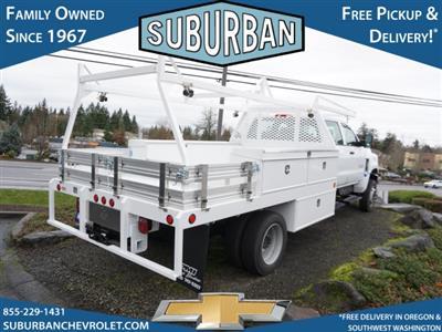 2020 Chevrolet Silverado 5500 Crew Cab DRW 4x4, Scelzi CTFB Contractor Body #T200929 - photo 6